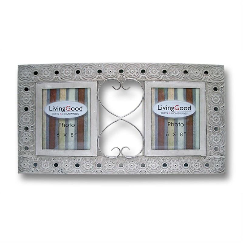Duo Merce 6'' x 8'' Photo Frame