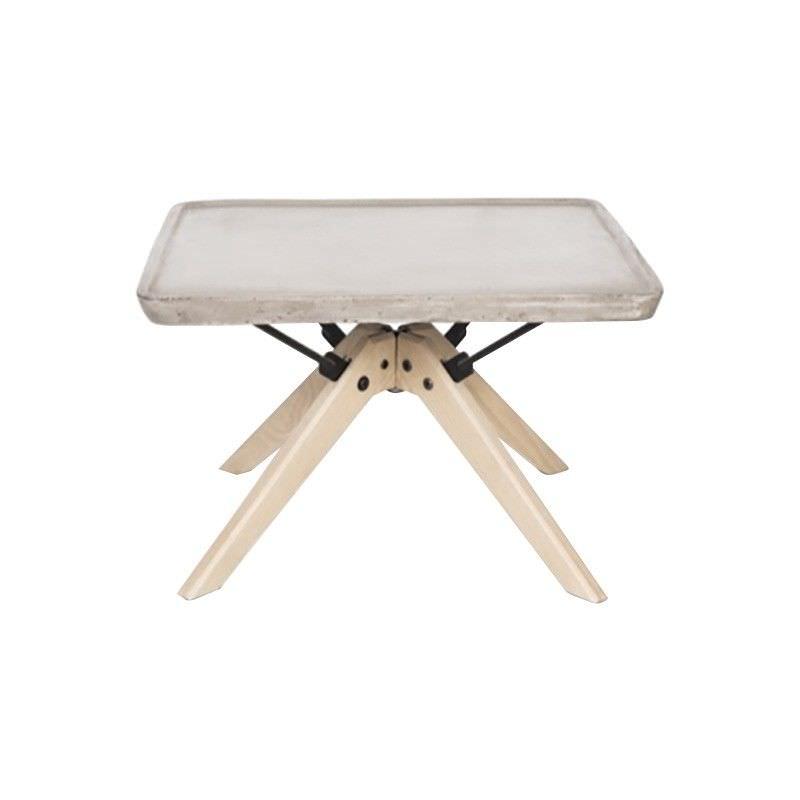 Palau Square Concrete Top Side Table