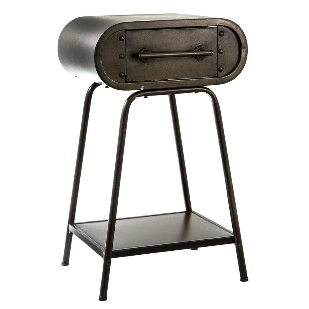 Dougall Metal Side Table