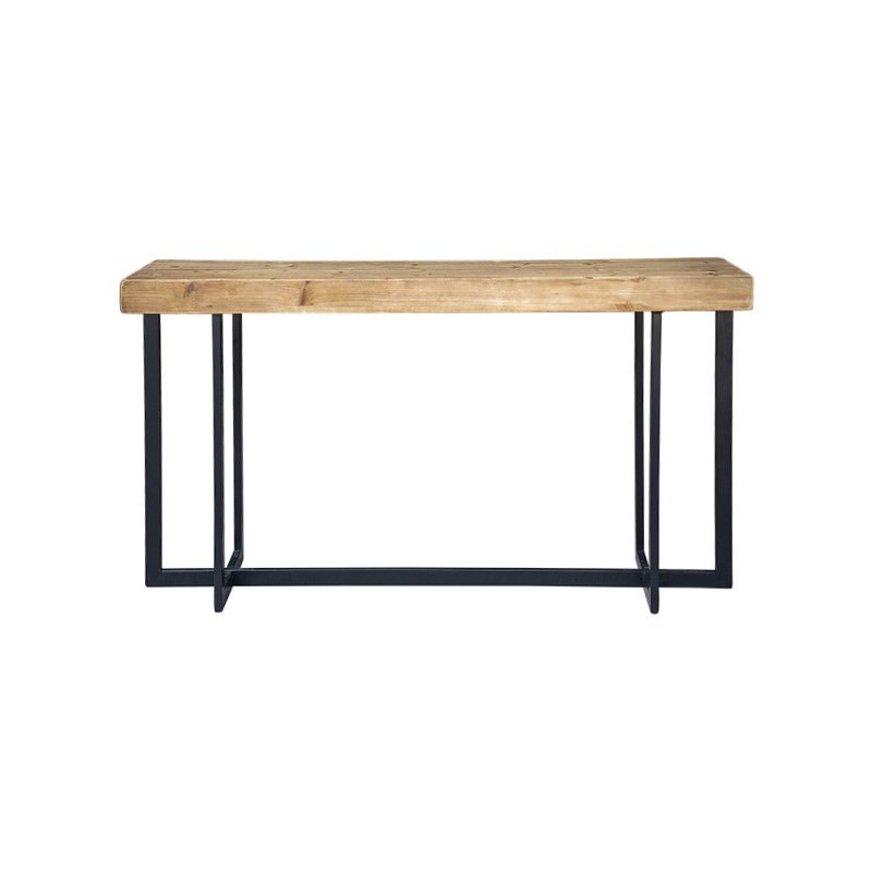 Toby Wood & Metal Console Table, 150cm