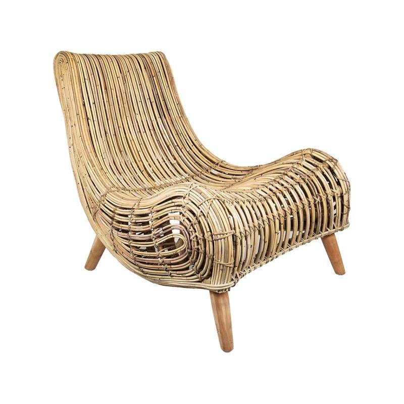 Haiti Rattan Lounge Chair