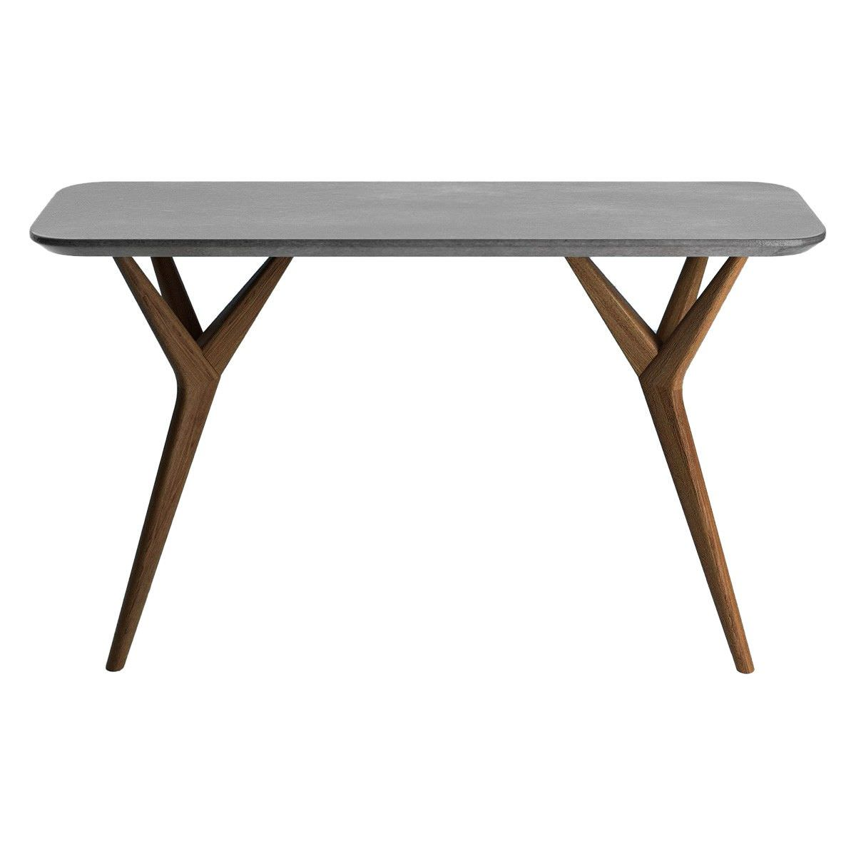 Twigs Concrete & Timber Console Table, 140cm