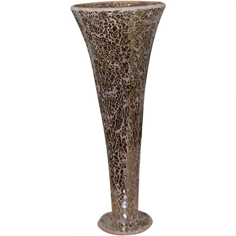 Mosaic Decoration Trumpet Vase Large