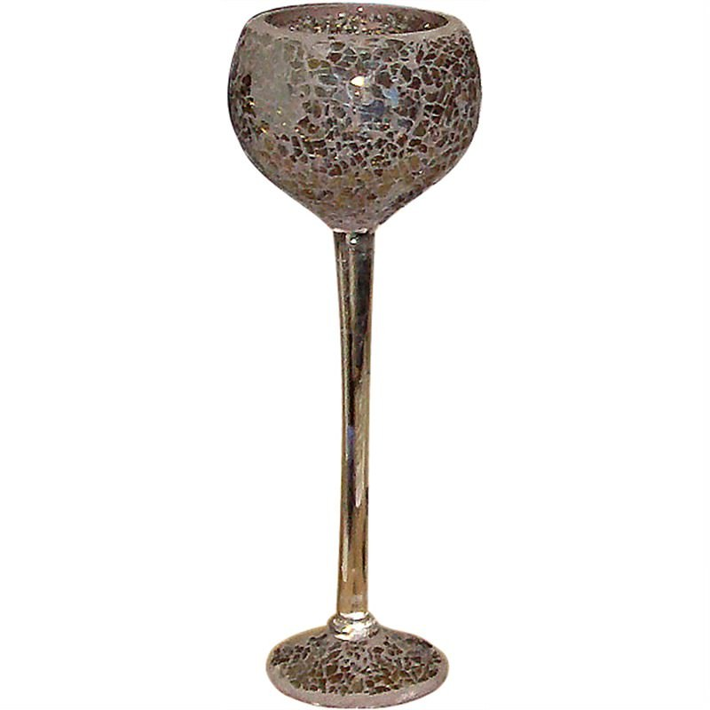 Mosaic Decoration Goblet Vase Large