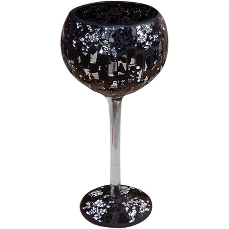 Mosaic Decoration Goblet Vase Small