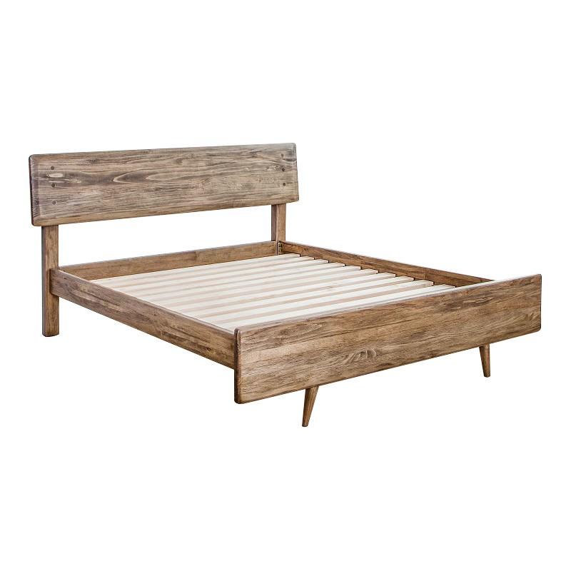 Kemglen Mountain Ash Timber Bed, Queen