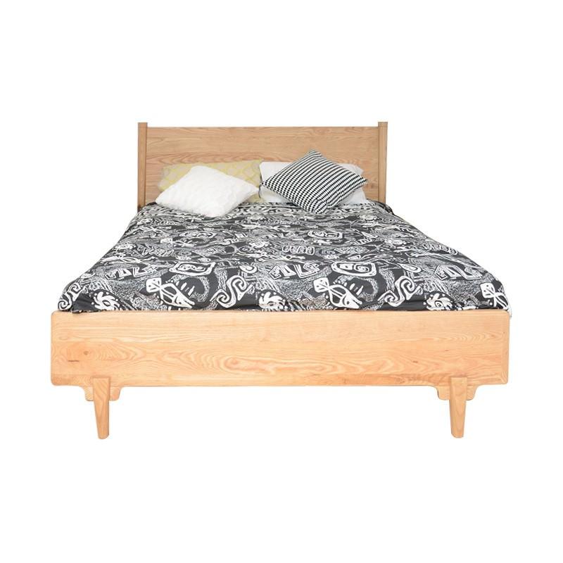 Shepparton Ash Timber Bed, Queen