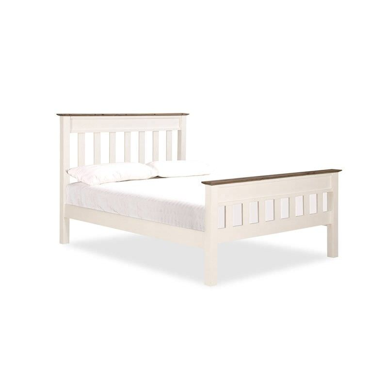 White Haven Solid Pine Timber King Bed