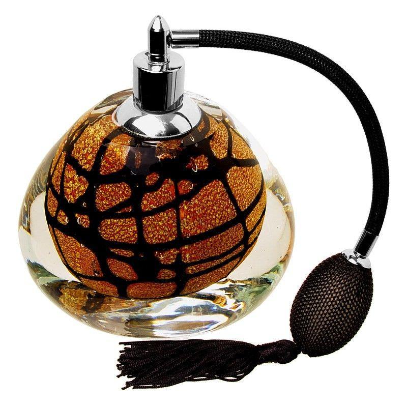 Glass Atomizer Lge-Gold W-Black