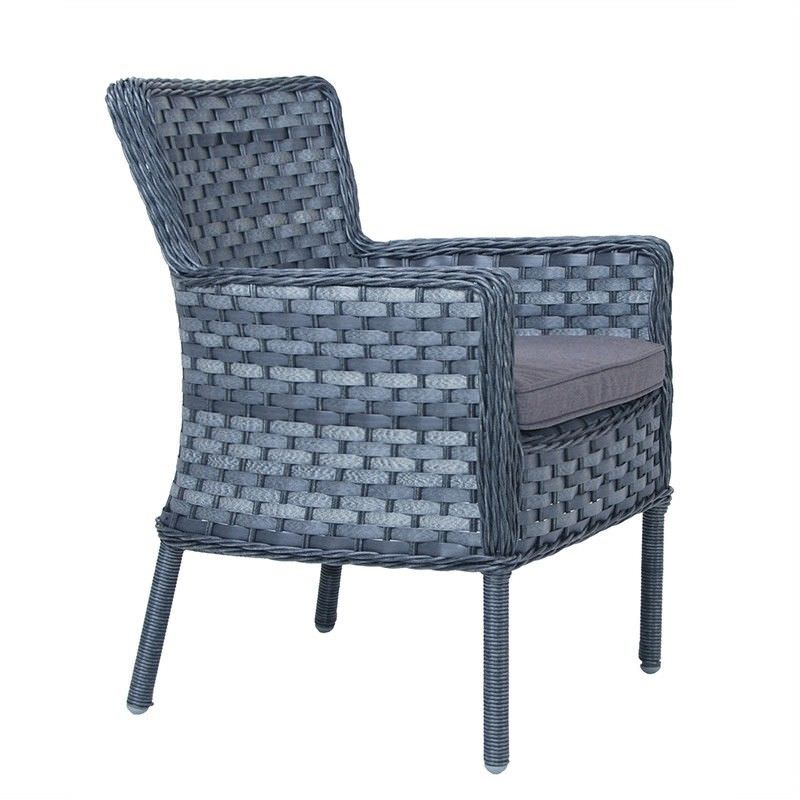 Bradford Outdoor Wicker Dining Armchair