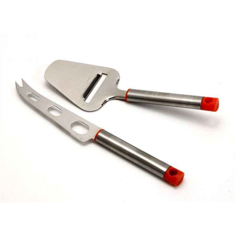 2 Pce S-Steel Cheese Set