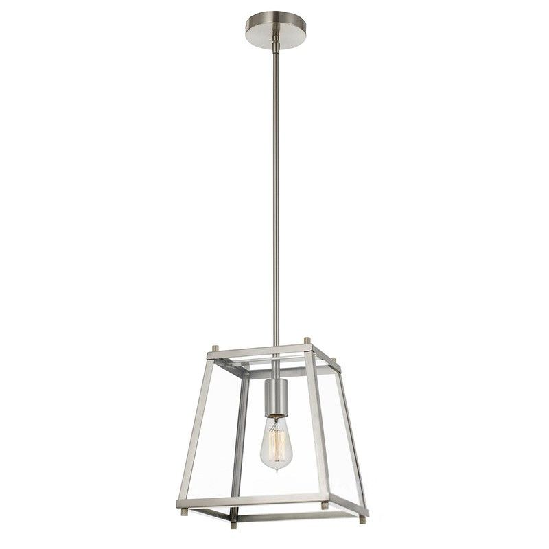 Gilbert Metal & Glass Pendant Light, Small