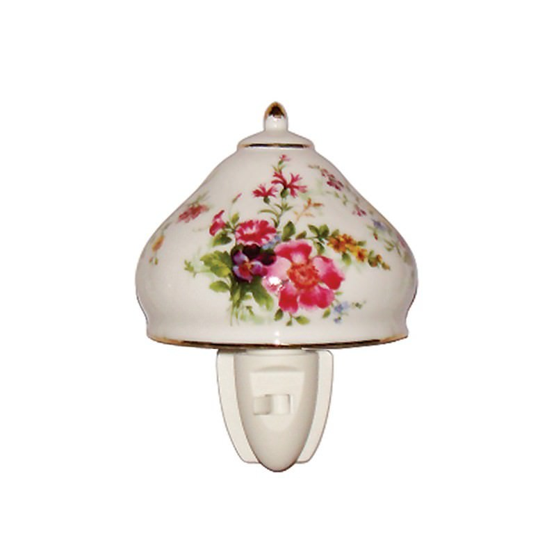 Spring Posy Porcelain Night Light