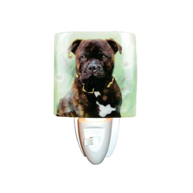 Mastiff Porcelain Night Light