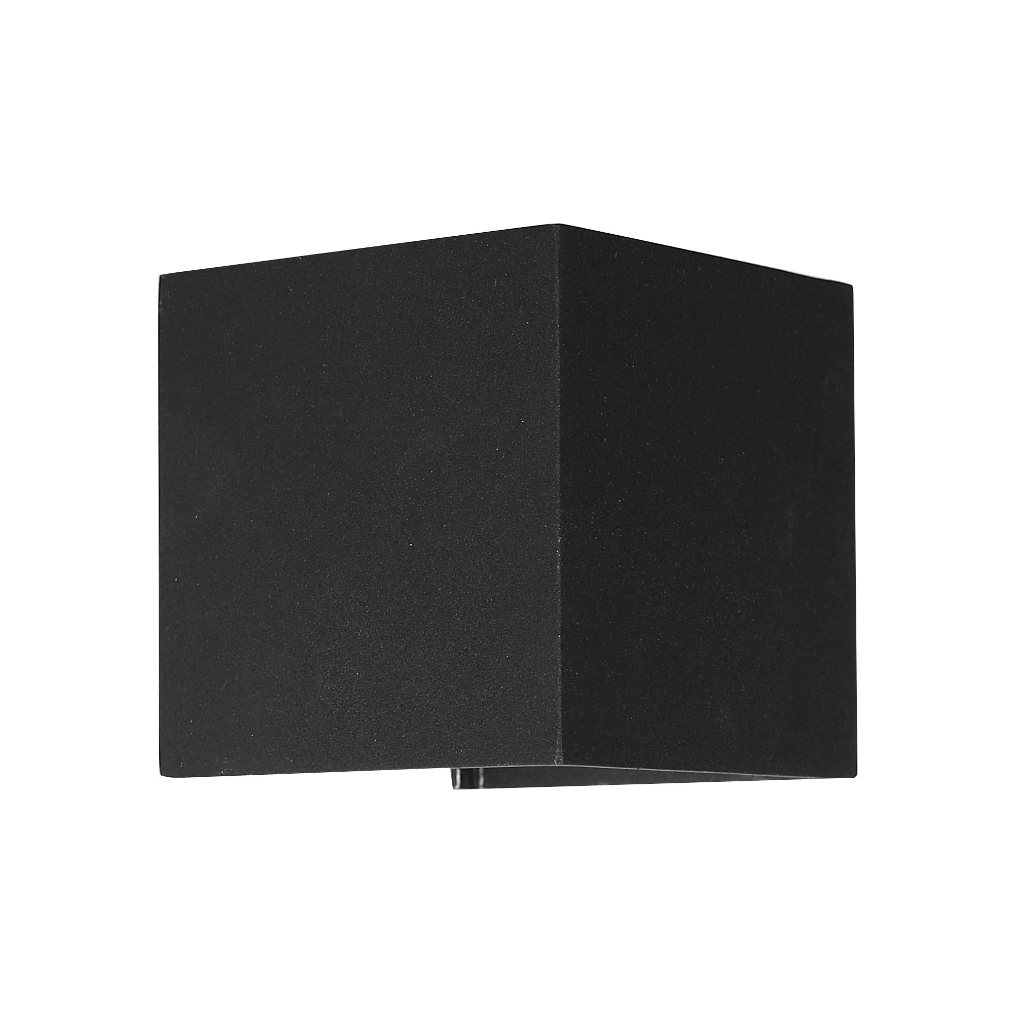 Glenelg Commercial Grade IP54 Exterior LED Wall Light, Black