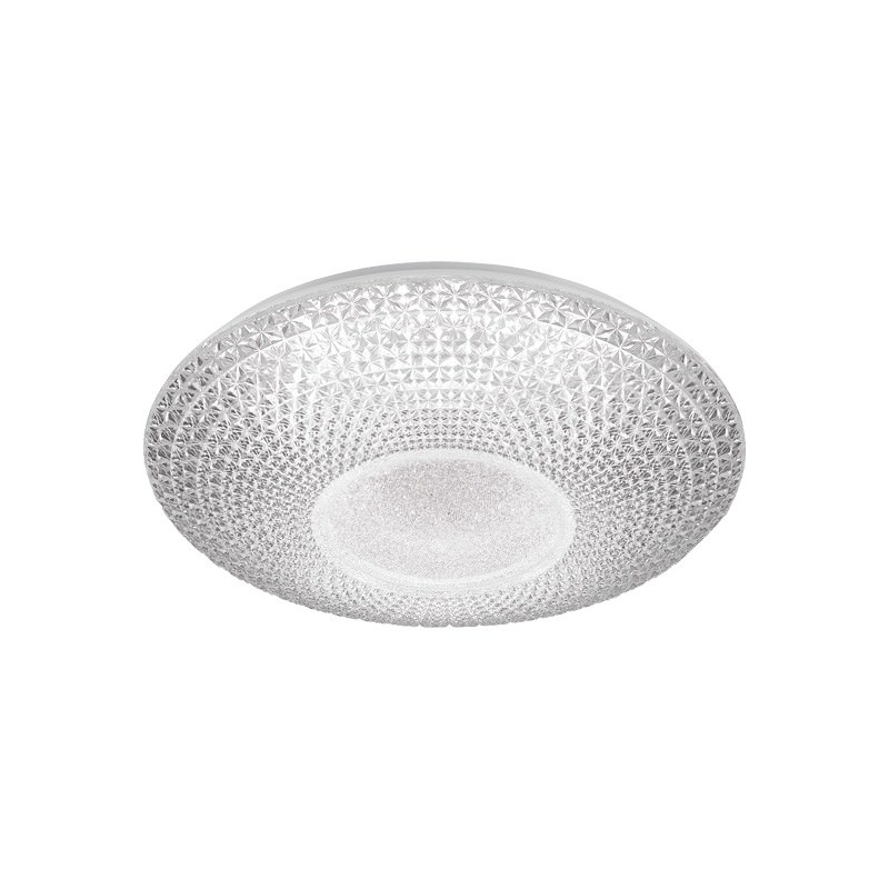 Greta Cut Glass Colour Changing LED Oyster Light