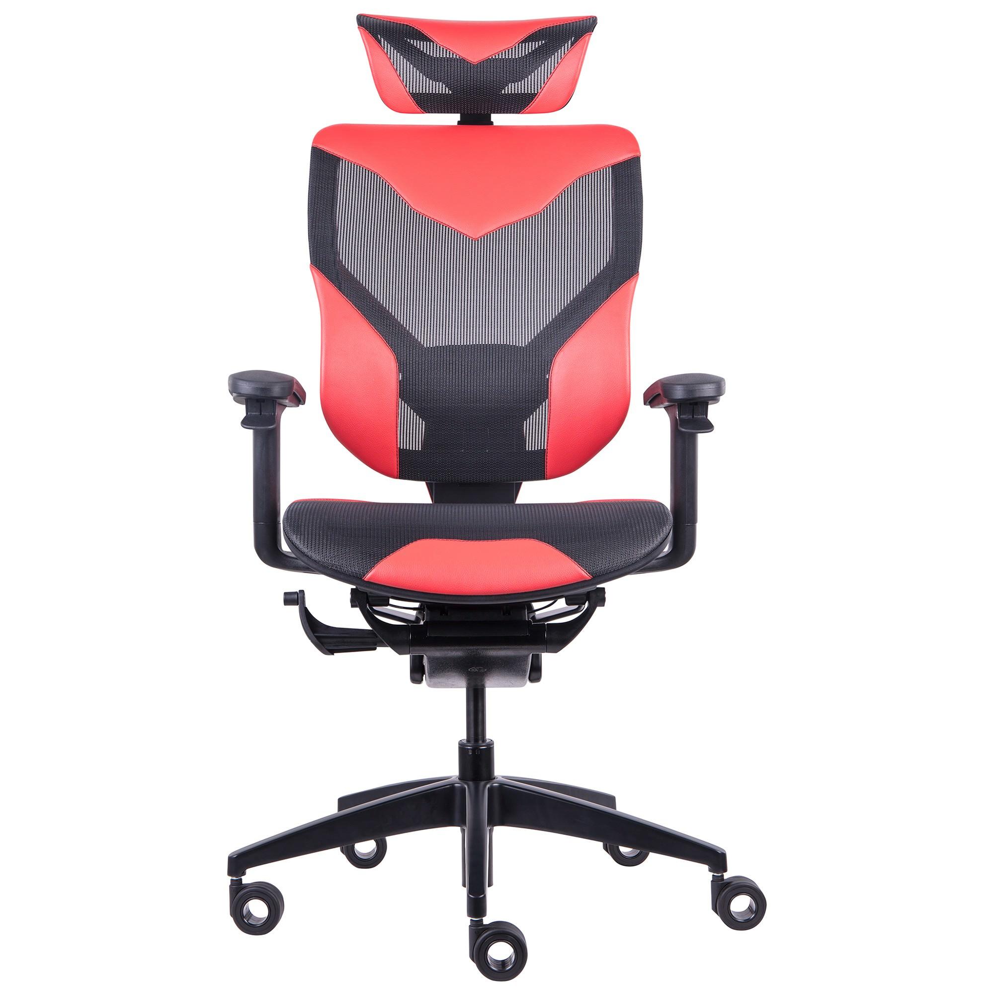 GTCHAIR GR-V7-X Vida Ergonomic Gaming / Office Chair, Red
