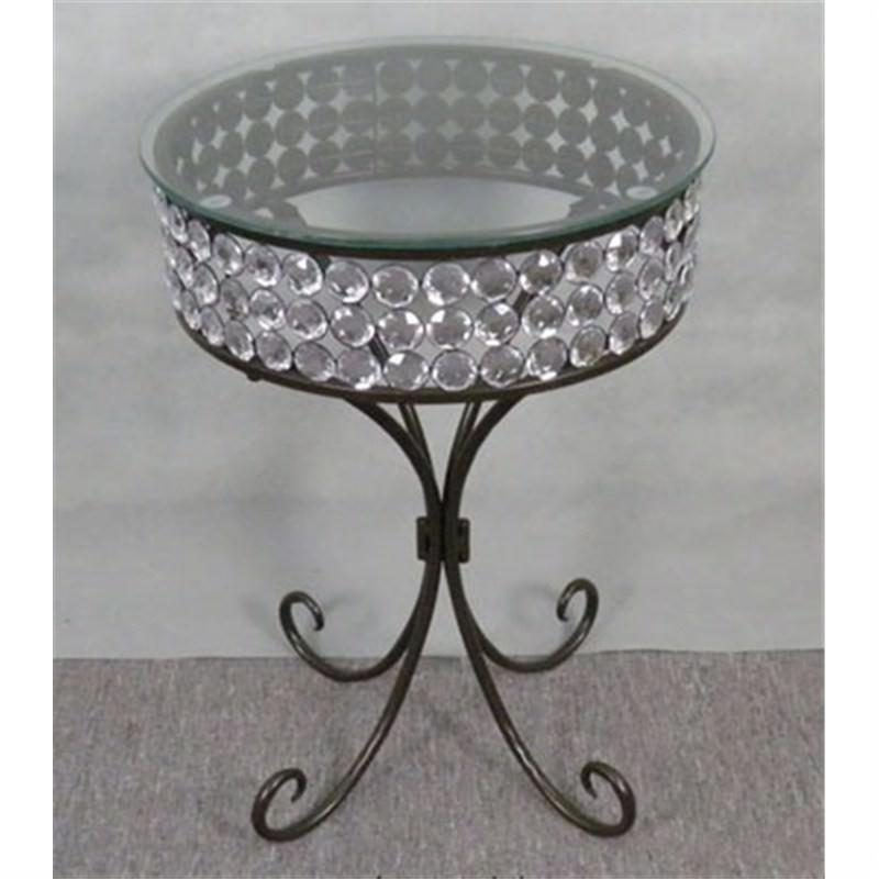 Round Acrylic Table 45cm Diameter
