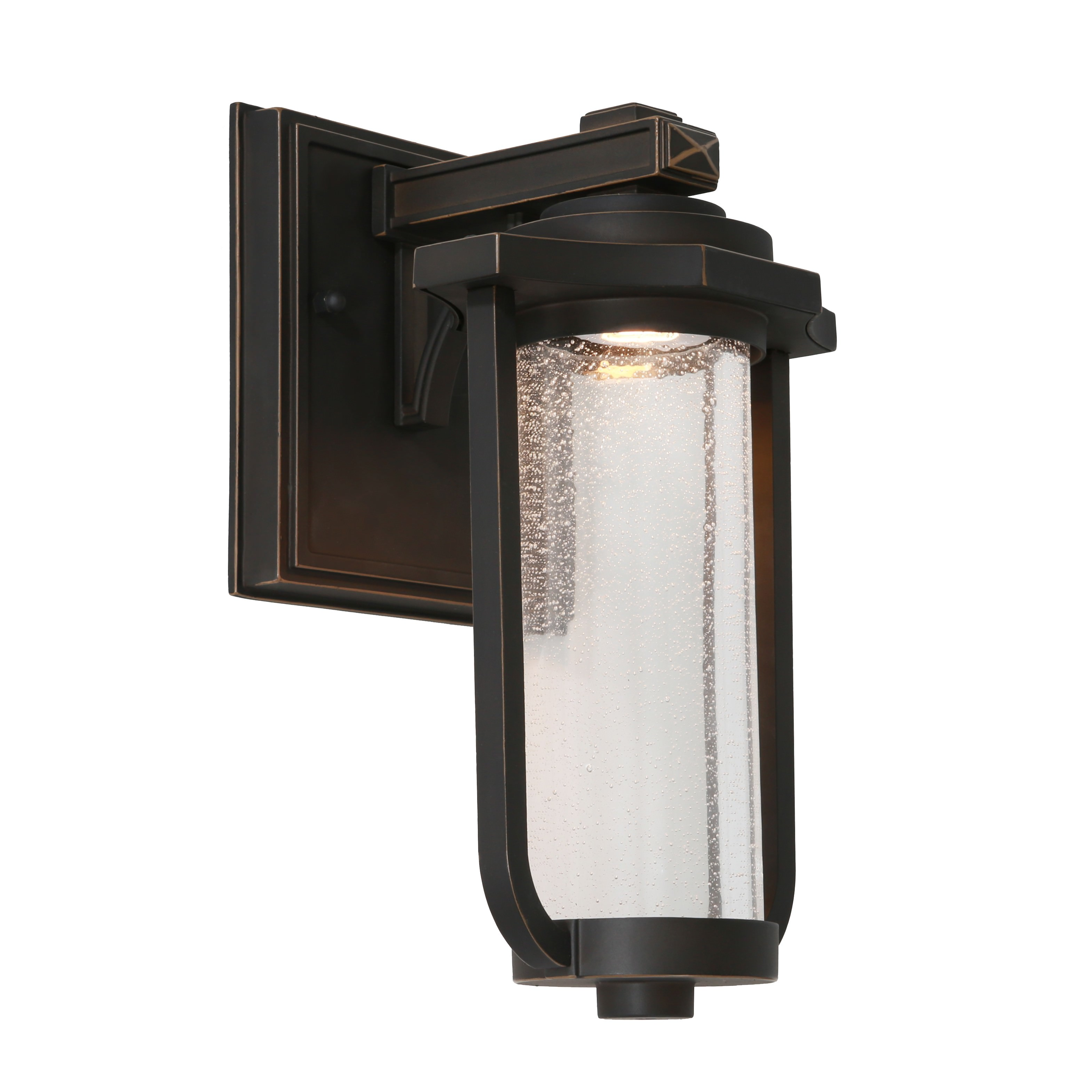 Hartwell Commercial Grade IP44 Exterior LED Wall Lantern, Bronze