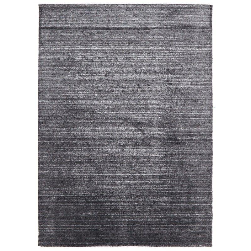 Manhattan Hand Made Wool Rug in Charcoal - 280x190cm