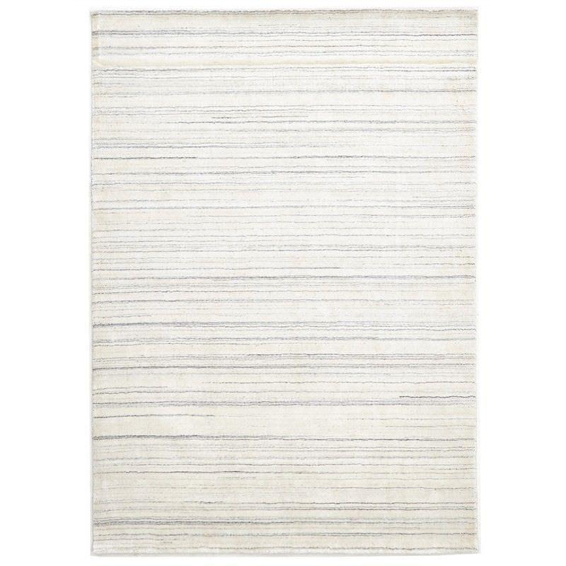 Manhattan Hand Made Wool Rug in Ivory - 320x230cm