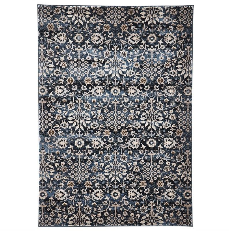 Turkish Made Morris Imperial Rug in Blue - 230x160cm