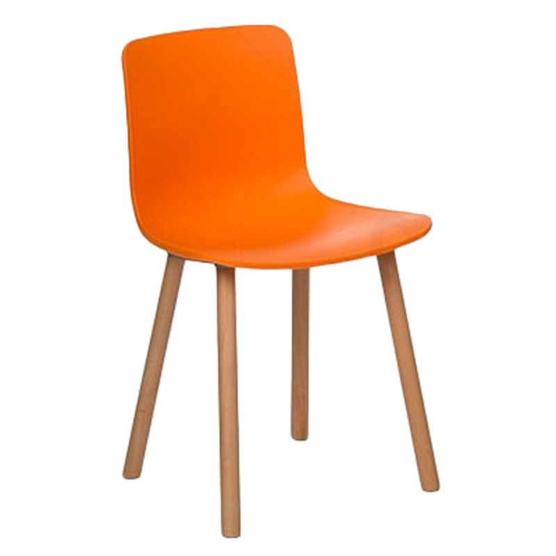 Heme Dining Chair, Orange