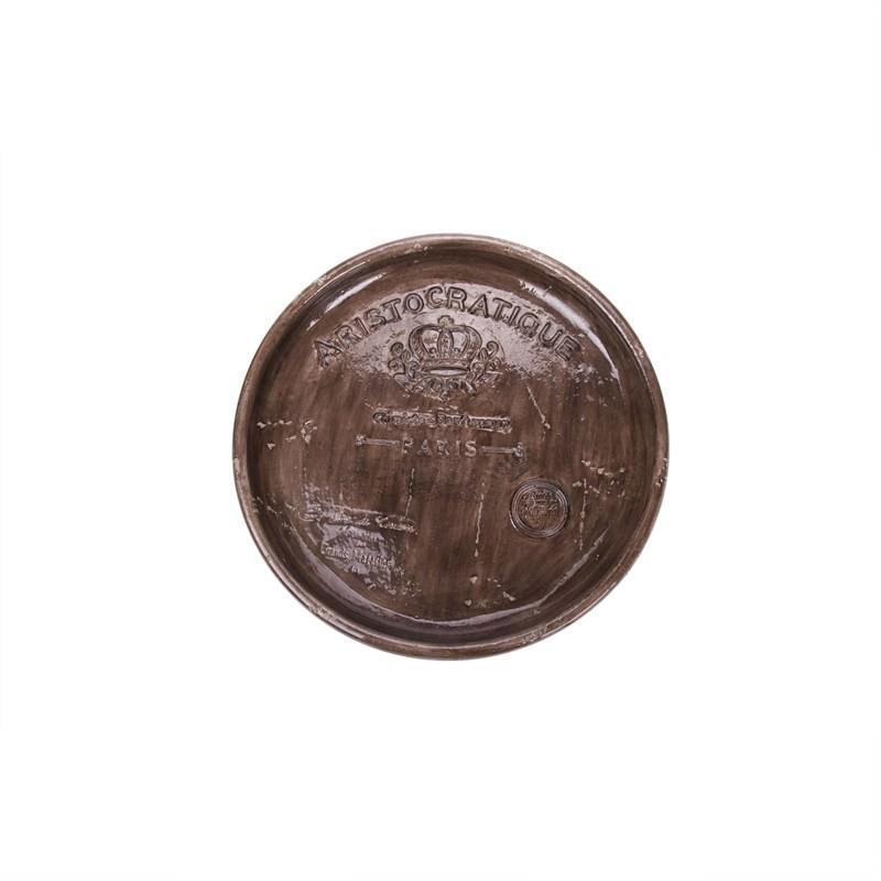 Aristo Platter Brown 40x40x5cm