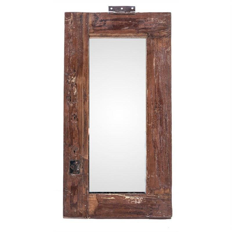 Recycled Old Window Frame Mirror