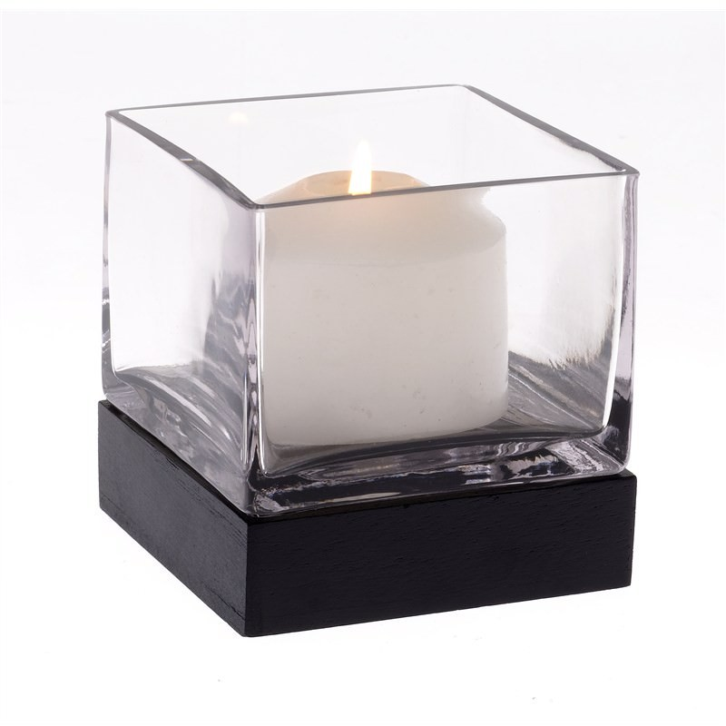 Square Candle Holder with Base