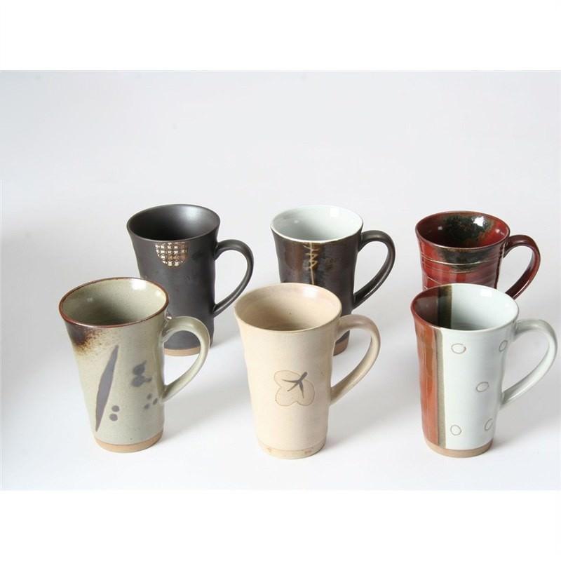 6 Piece Mug Set - Brown