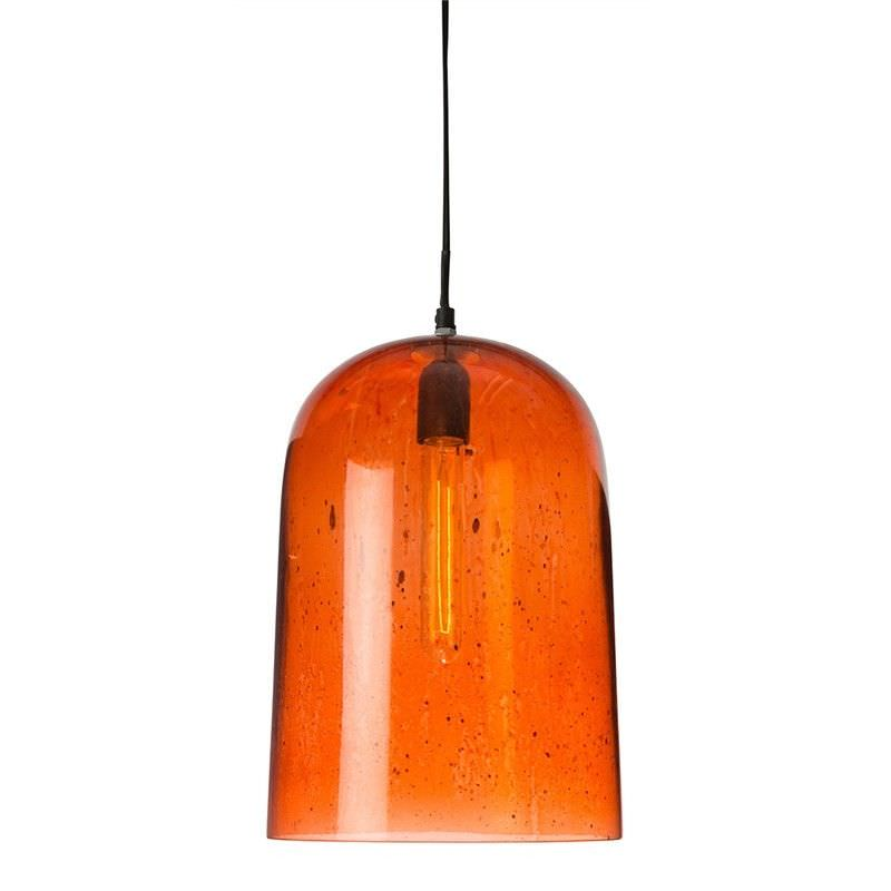 Nottinham True Arch Glass Pendant Light - Copper
