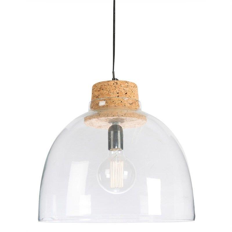 Anaya Dome Glass Pendant Light