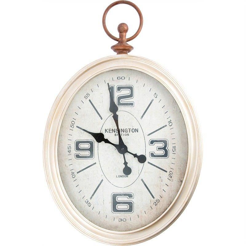 Alafaya Antique Oval Wall Clock