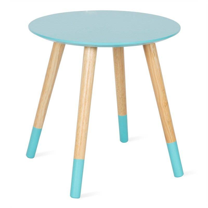 Astra Decorative Side Table - Aqua