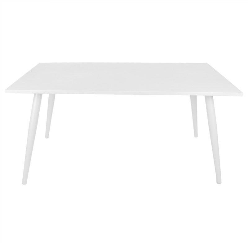 Monans Aluminium 160cm Indoor/Outdoor Dining Table, White
