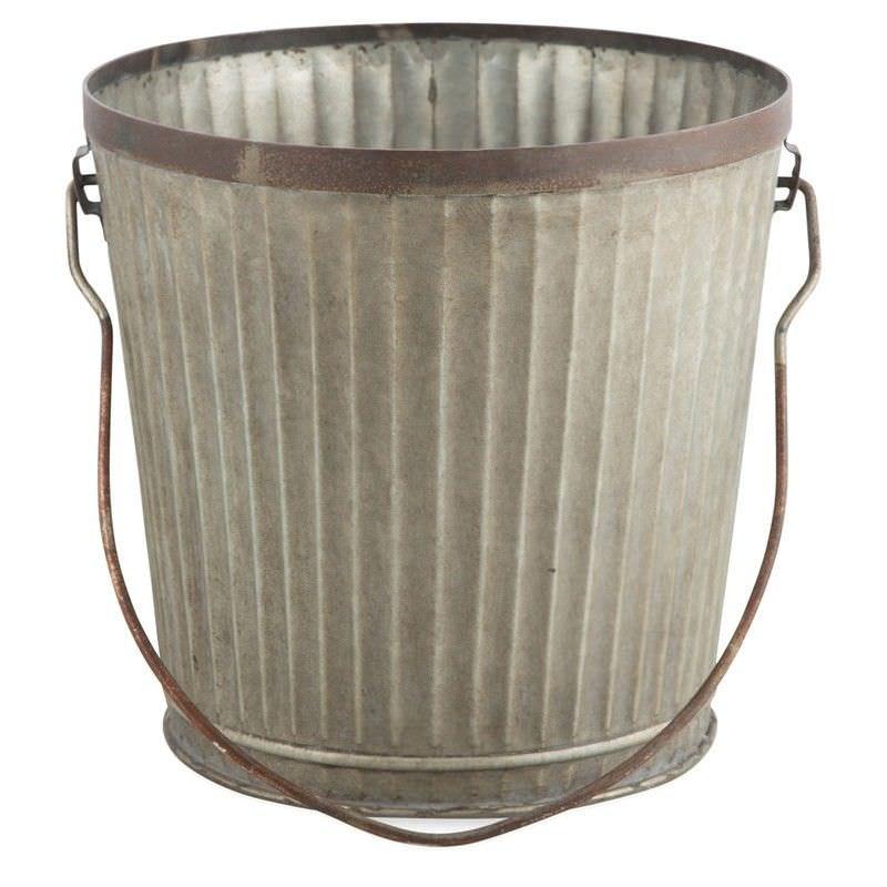 Lynx Iron Planter / Ice Bucket - Small