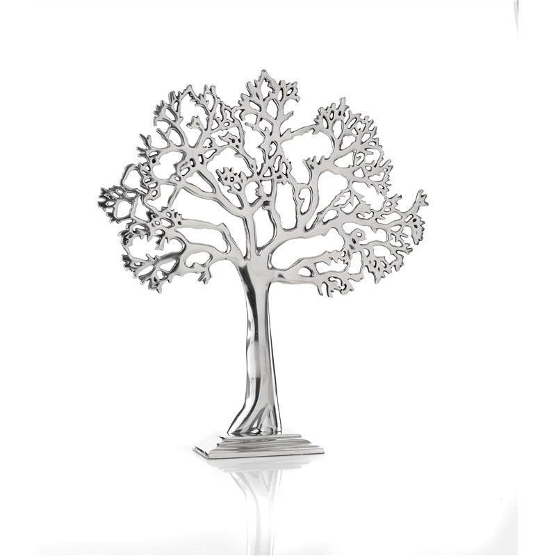 Aluminium Tree of Life 38 x 43cm