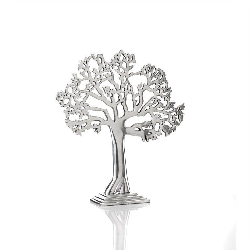 Aluminium Tree of Life 30 x 33cm