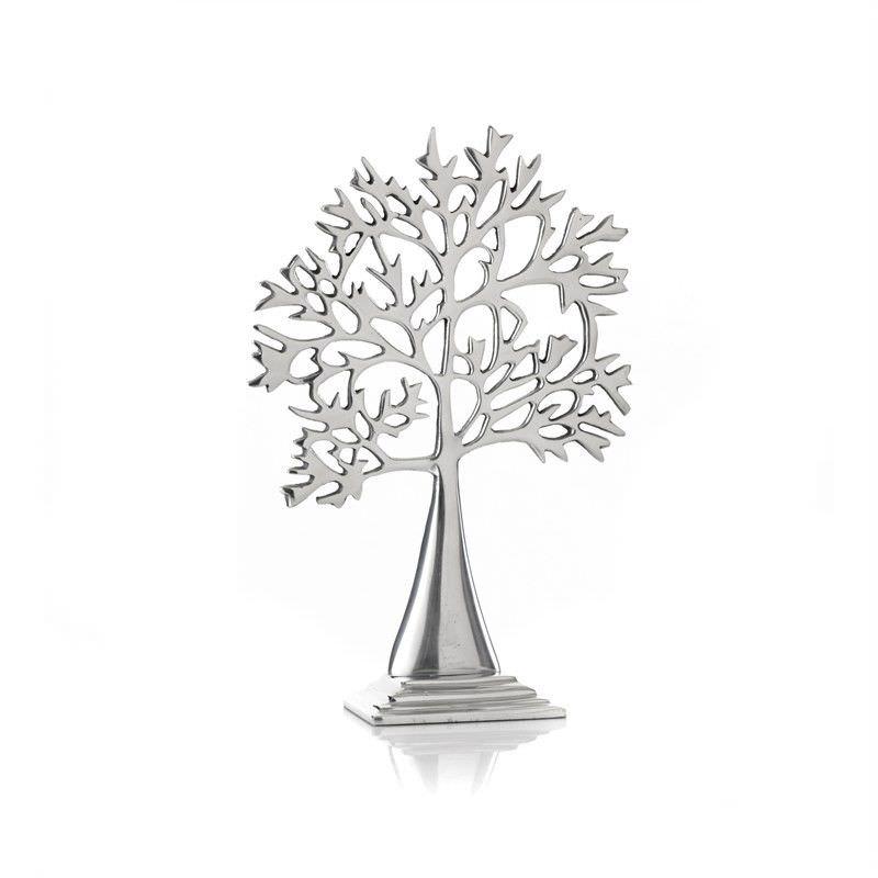 Aluminium Acacia Tree - 19 x 28cm