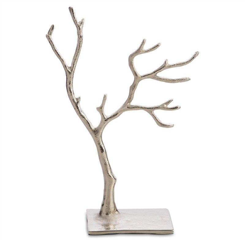 Tallula Aluminium Jewellery Tree, Medium, Silver