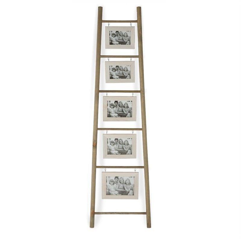 Echelle Solid Timber Ladder Photo Frame Large