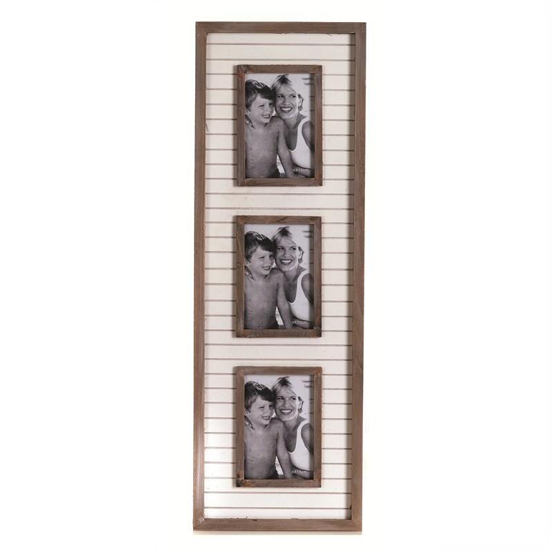 Geria 3 Timber Photo Frame - 57cm