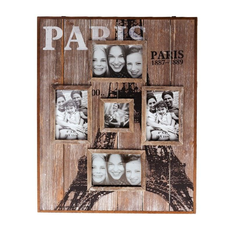 Paris Timber Photo Frame - 56cm