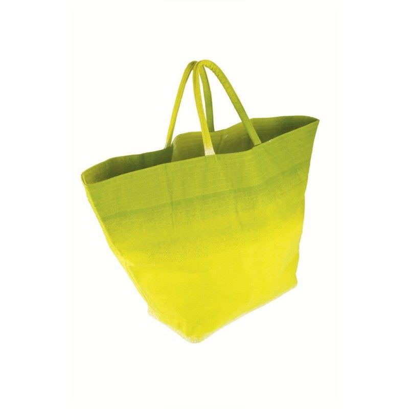 Canvas Beach Bag - Lime