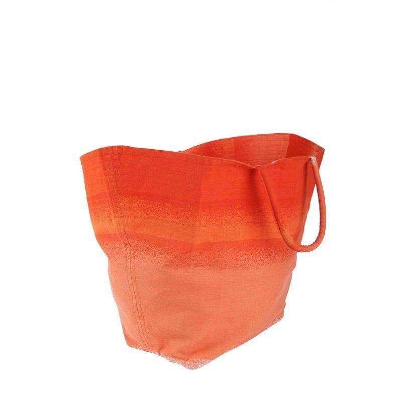Canvas Beach Bag - Orange