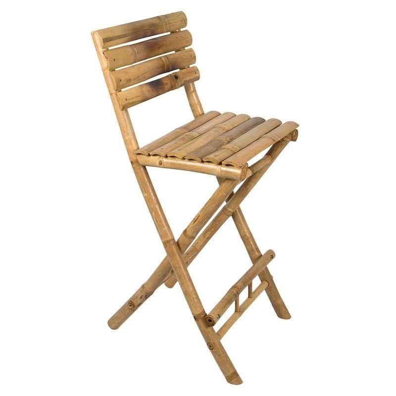 Allison Bamboo Counter Chair