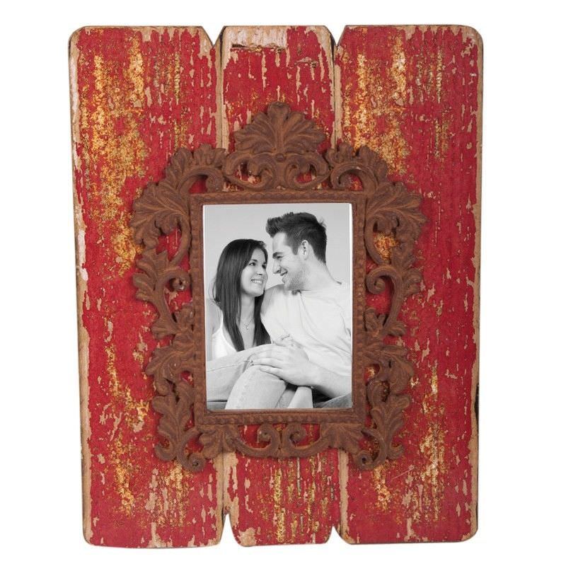 Rosebud Red Photo Frame - 30cm