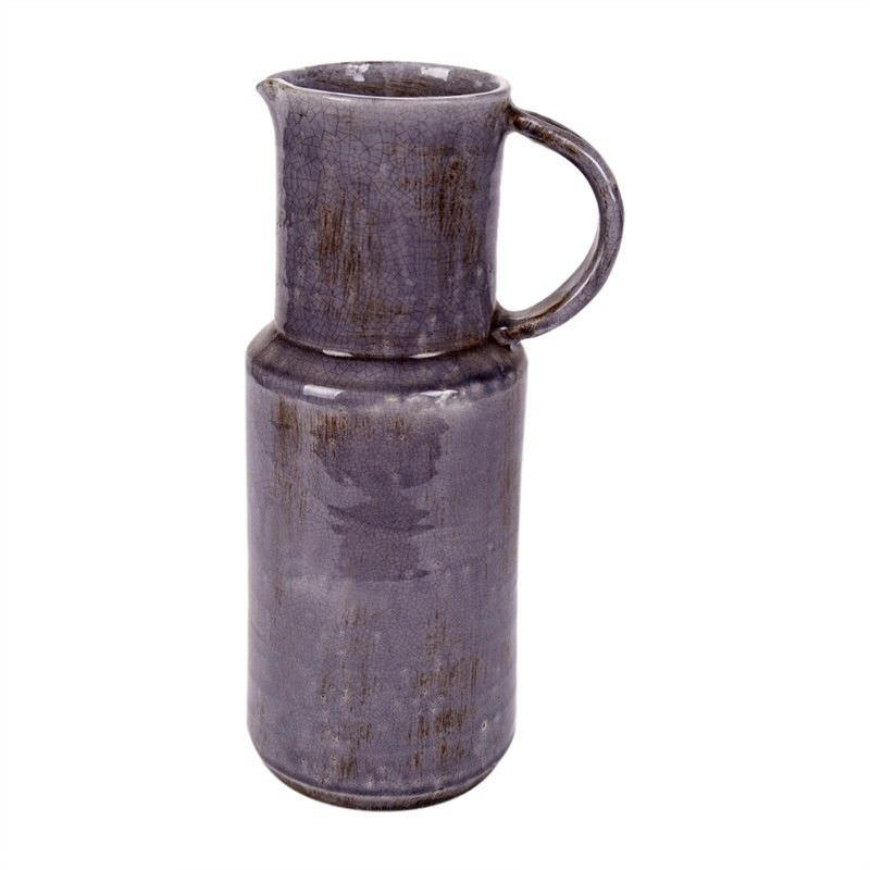Pitche Terracotta Vase - Grey