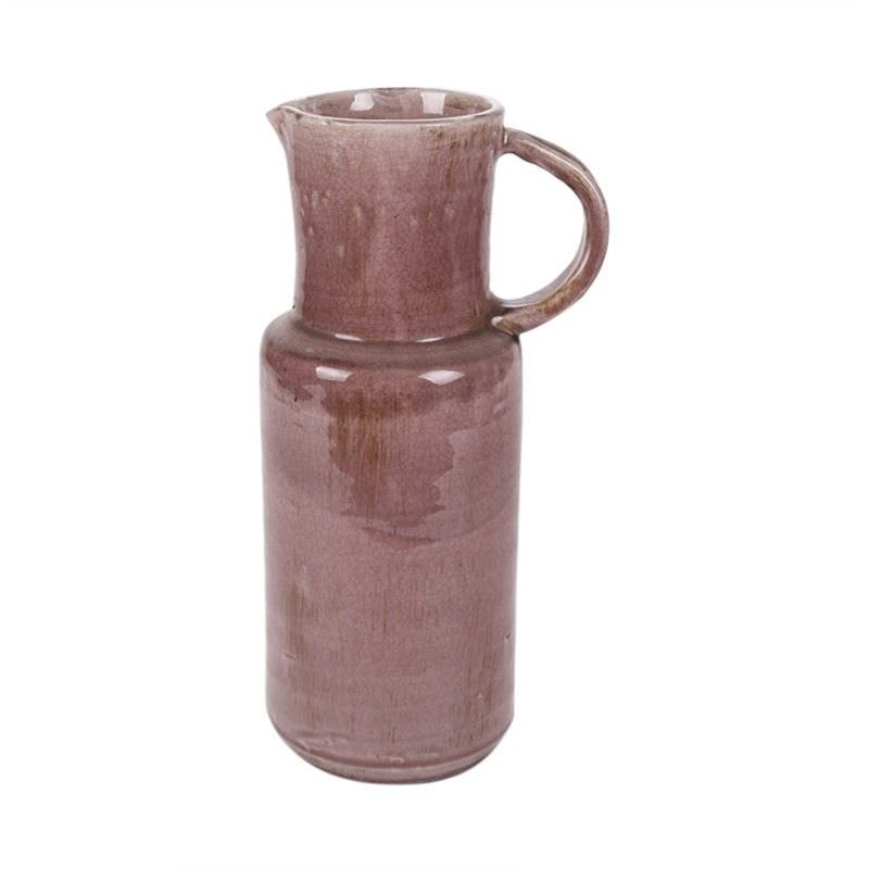 Pitche Terracotta Vase - Mauve